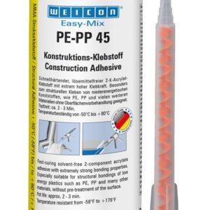 Colle bi composante PE-PP 45 polyoléfine PE, PP, PEHD